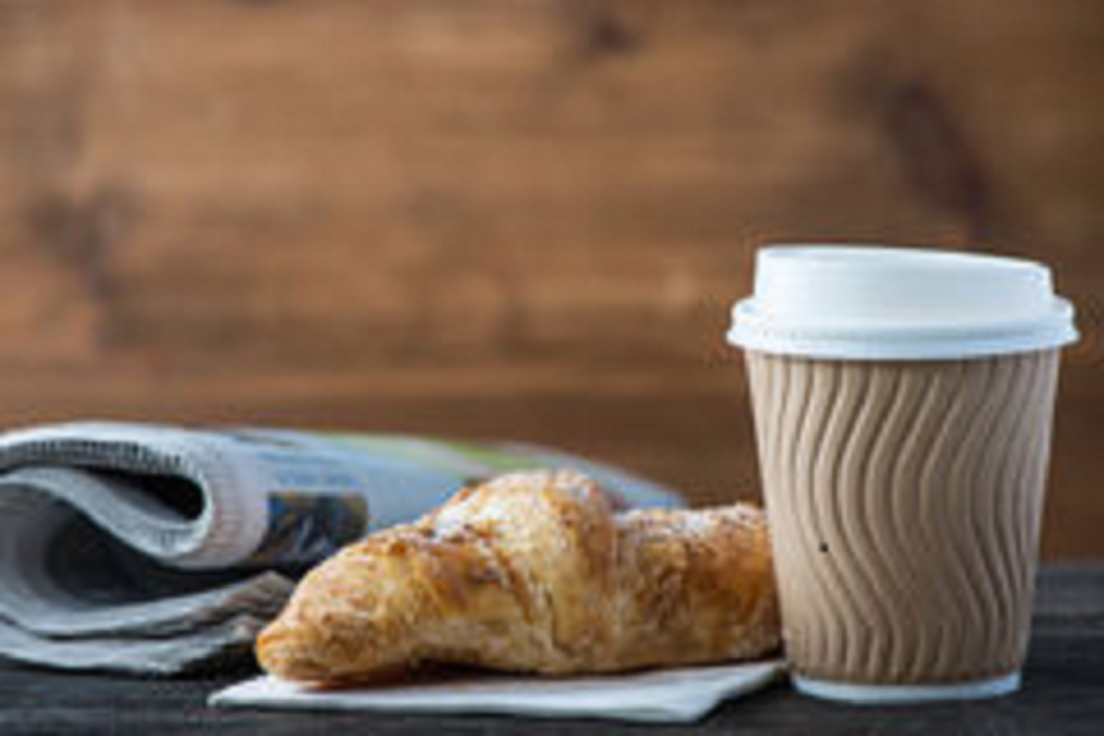 Takeaway breakfasts now available