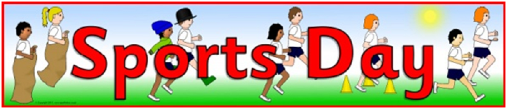 Save the date…Monday 17th June is Sports Day